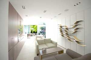 The IVY Modular Shelving Systems Seamlessly Change Shape