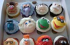 Tasty Muppet Treats - Cupcake Occasions Serves up Tasty Jim Henson Character Desserts