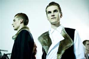 The Dries Van Noten Menswear AW11 Collection is Elegantly Masculine