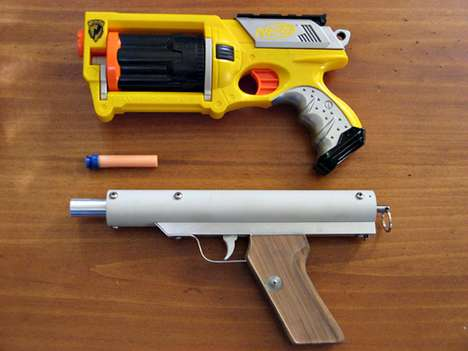 homemade nerf gun