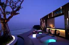 Cliffhanger Hotels - The Hilton Pattaya Hotel Reaches to the Ends of the Earth in Luxury
