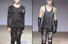 25 Examples of Fierce Shredded Fashion - From Shredded Crop Tops to Shredded Male Leggings