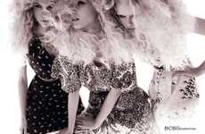 Blonde Trio Fashion Ads