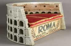 Ancient Landmark Seating - The Colosseum Sofa Gives a Roman Flair to Your Home Decor