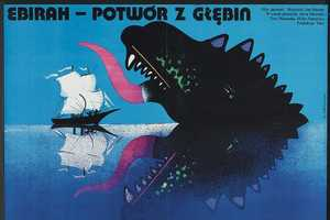 The Polish/Czech Monster Movie Posters Bring Color to the Cold War