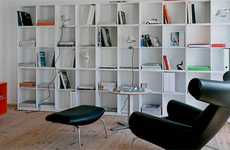 Chic Living Room Libraries - Montana Mobler Helps You Organize Your Own Personal Library