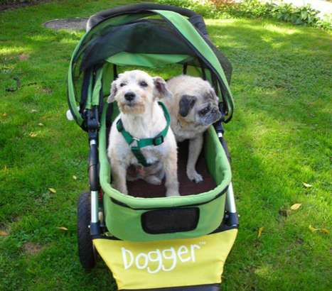 Peculiar Pet Strollers - The Dogger is the World's Coolest Dog Stroller