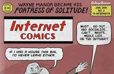 Internet Meme Fighting Superheroes