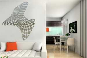 Acte Deco Mirrored Wall Stickers Bring Detail and Dazzle to Any Room