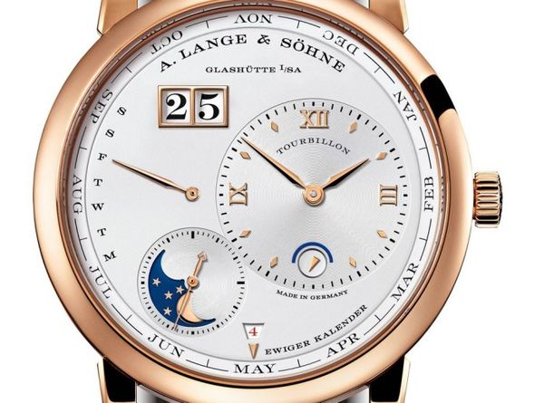 Gold Calendar-Bearing Timepieces