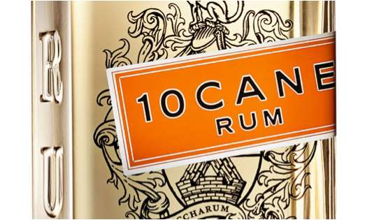 10 Cane Rum Packaging