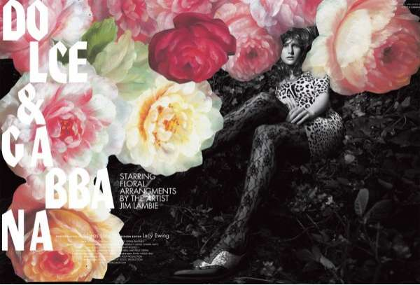 Floral-Infused Editorials