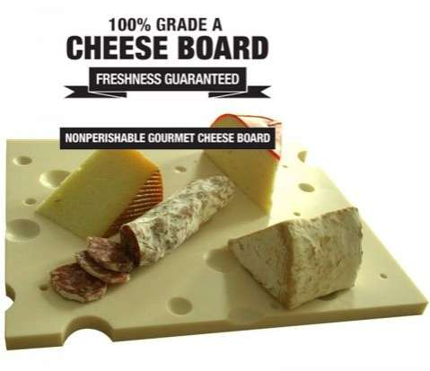100% Grade A Cheese Board
