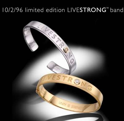 $10,296 Luxury Livestrong Bands
