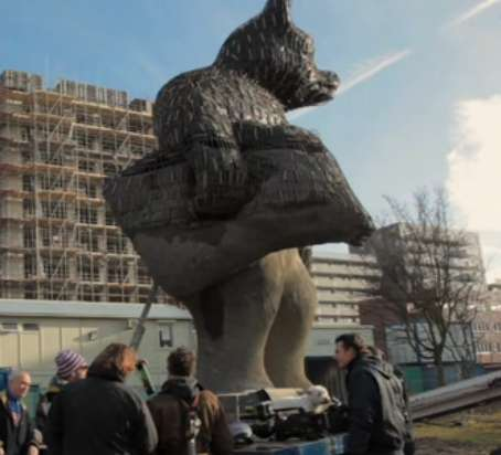 Giant Concrete Bears