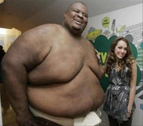 Really Fat Sumo Wrestler