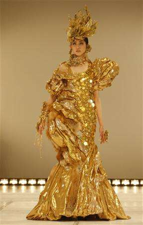 $1.2 Million Gold Dress