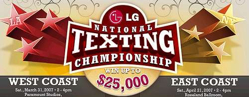 Text Messaging Competitions