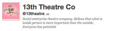 13th theatre company