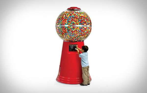 Giant Gum Dispensers