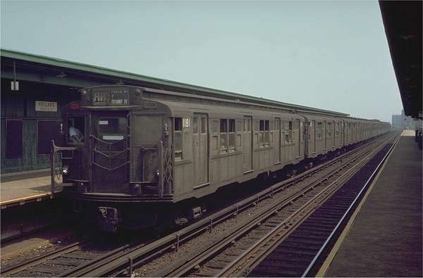 1935 nyc subway car
