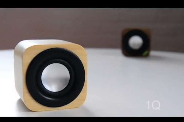 Compact Wooden Sound Devices