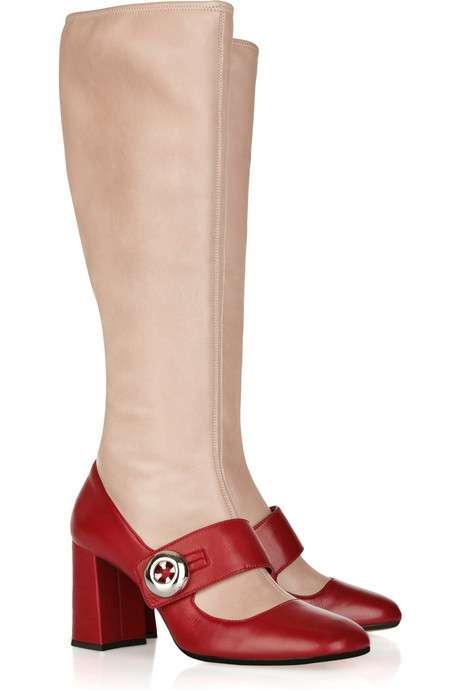 Fake-Leg Footwear