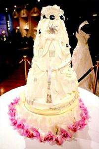 $20 Million Diamond Iced Wedding Cake