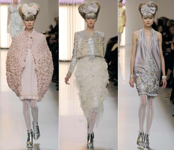 Pastel Bouffant Fashion