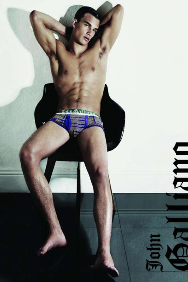 2011 John Galliano Underwear Campaign