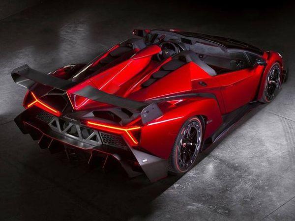 Race Car Inspired Roadsters 2014 Lamborghini Veneno Roadster