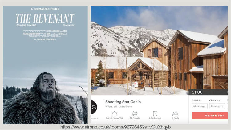 Cinema-Inspired Rental Properties