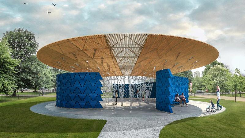 Tree-Inspired Pavilion Designs