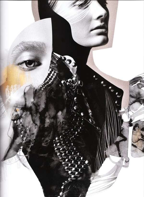 Colorfully Fragmented Fashiontography