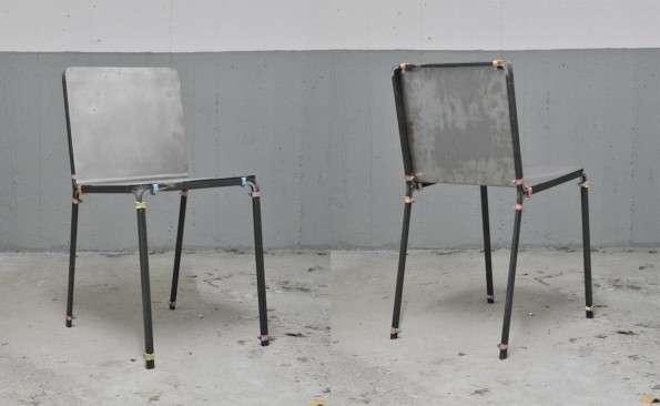 Boxy Aluminum Seating