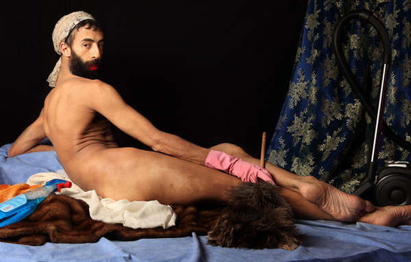 Bizarre Painting-Inspired Photography