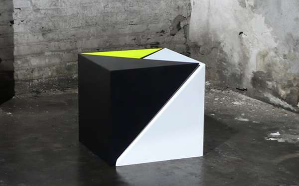 Geometric Intersecting Furniture