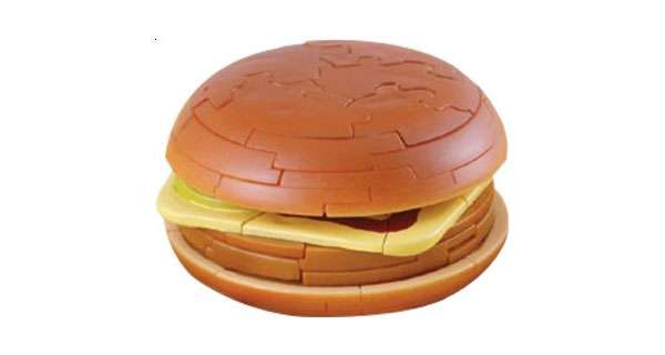 3-Dimensional Hamburger Puzzle