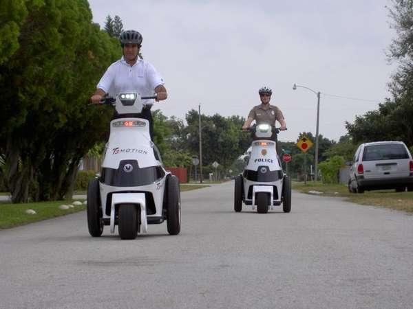 3-Wheel Police Cruisers