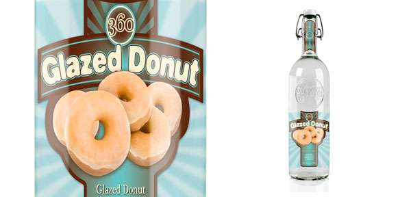 360 glazed donut vodka