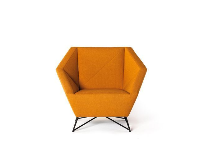 Cushioned Origami Seating