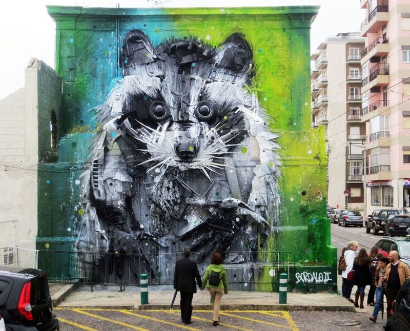 3D Animal Graffiti
