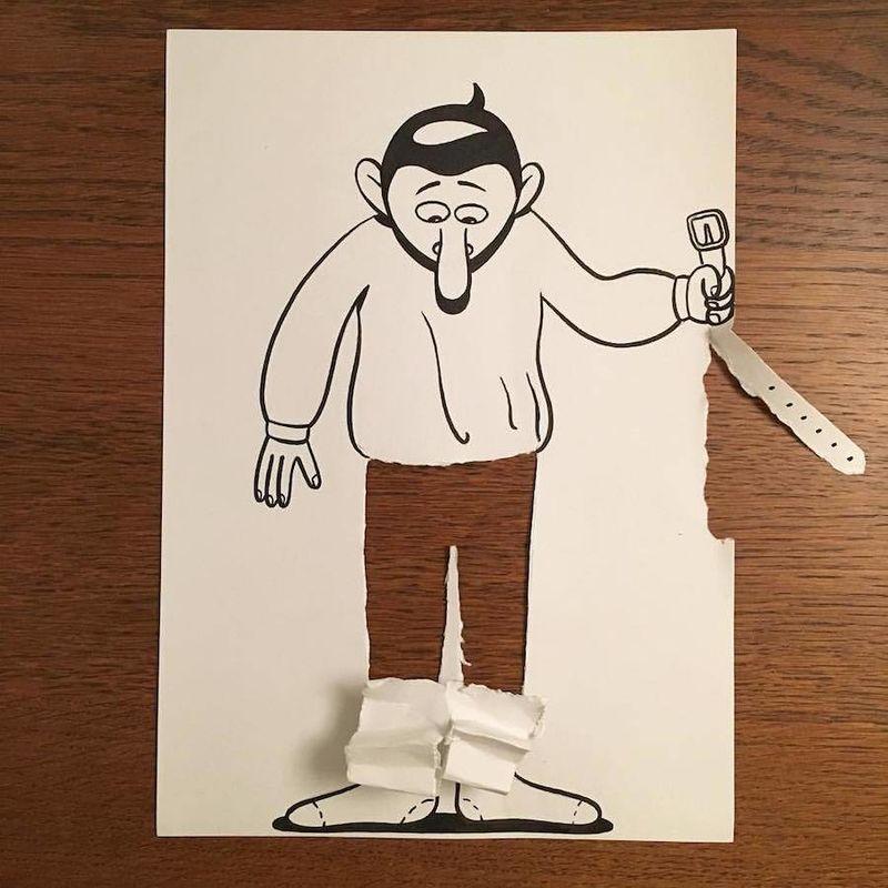 Humorous 3D Artwork