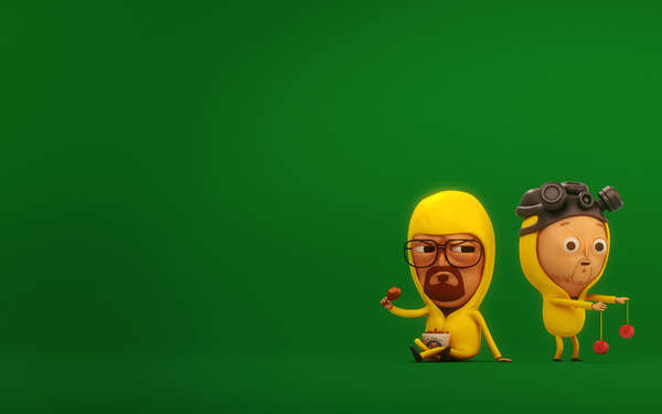 3D Iconic Character Illustrations