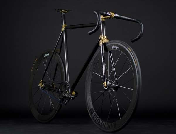 Sleek 3D-Printed Bikes