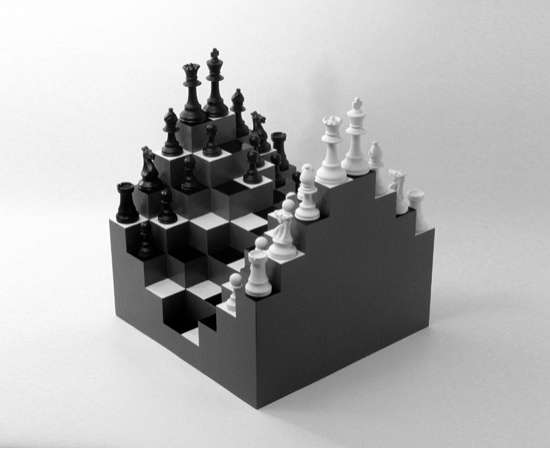 3D Chessboards