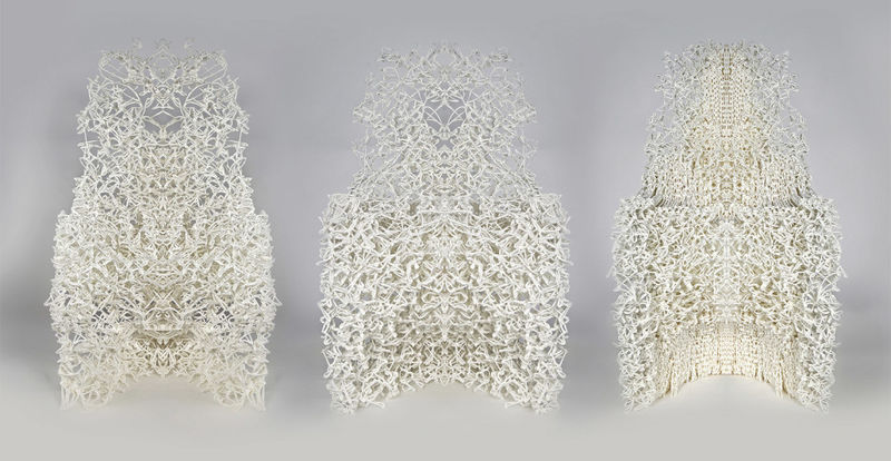 Intricately Printed Chairs