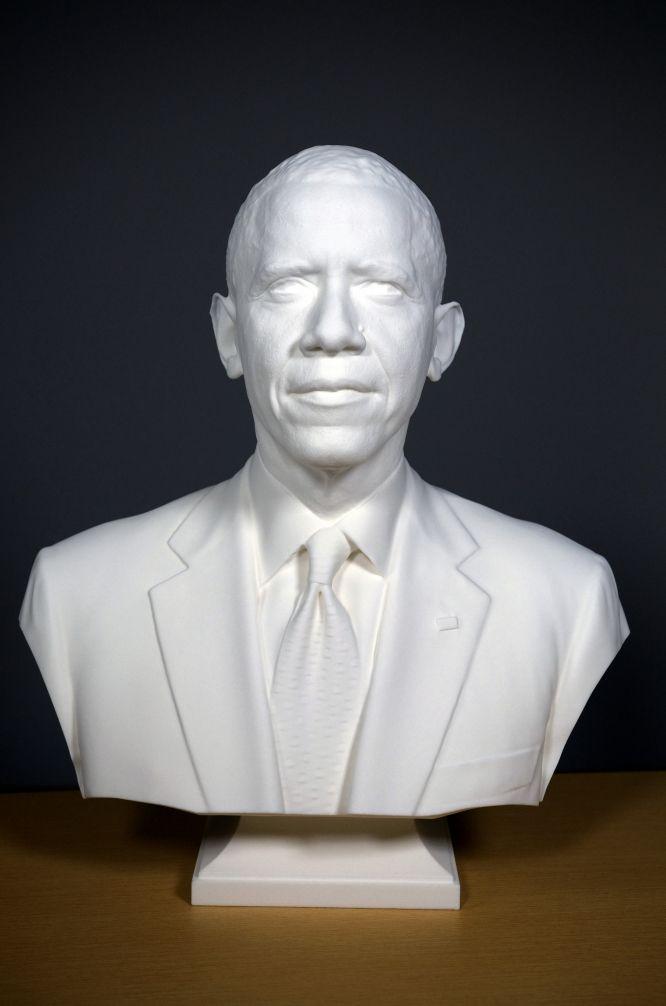 3D Presidential Portraits