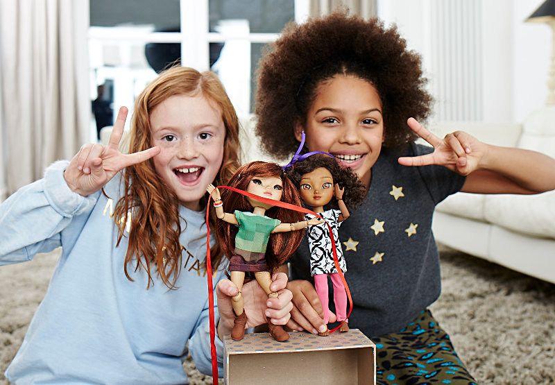 3D-Printed Dolls