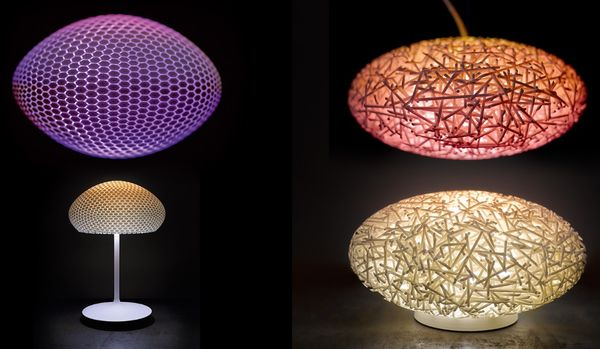 Organic Color-Changing Lights